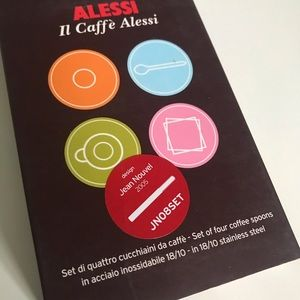 Alessi Limited Edition Designer Coffee Spoons